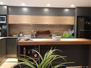 MOBILFE Built-in kitchens Wood-Plastic Composite Grey