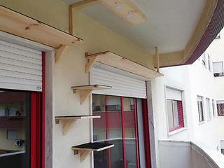 Home 'N Joy Remodelações Balcone Legno Effetto legno