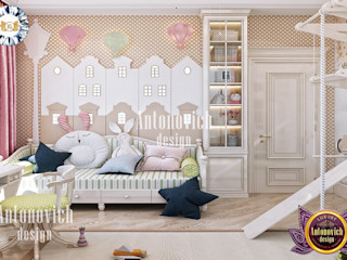 Luxury Antonovich Design Спальня для дівчаток