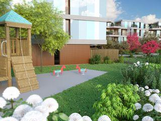 Rendering complesso residenziale Agenzia Rendering 3D - W & E srl Condominio