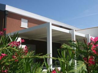 unica living design Atap landai Aluminium/Seng White