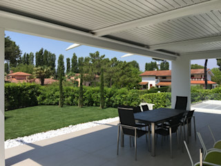 unica living design Konservatori Klasik Aluminium/Seng