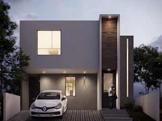 DELTA Small houses Concrete White