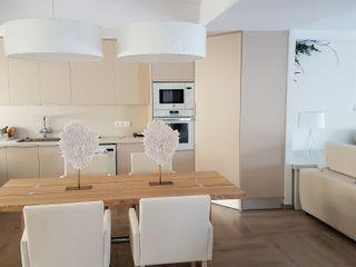Hemme & Cortell Construcciones S.L. Кухня ДСП Бежевий
