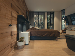 Adrede Arquitectura Classic style bedroom Wood Brown