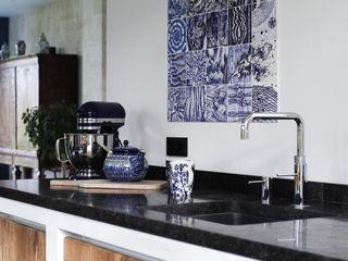 José den Hartog Kitchen units Tiles Blue