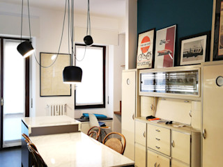 Studio Zay Architecture & Design Kitchen Wood Blue