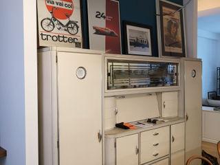 Studio Zay Architecture & Design KitchenStorage Wood White