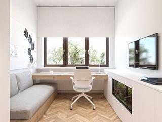 MIRAI STUDIO Habitaciones de niños Tablero DM Blanco