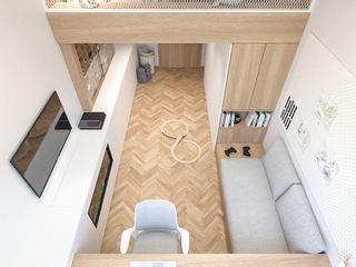 MIRAI STUDIO Habitaciones de niños Madera Acabado en madera