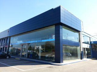 Cambio imagen concesionario Peugeot Valladares-Vigo ARDEIN SOLUCIONES S.L. Concesionarios de estilo moderno Azul