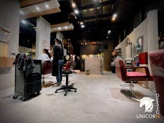 商業空間,髮廊規劃 Unicorn Design 辦公室&店面 Grey