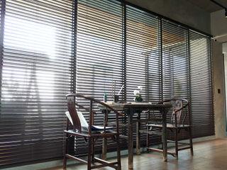 雲影徘徊的書香天地|百葉簾 MSBT 幔室布緹 書房/辦公室 實木 Brown