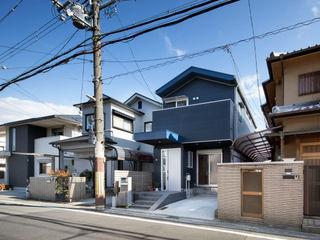一級建築士事務所アトリエm منزل عائلي صغير فلز Blue