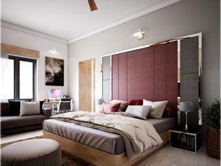 Premdas Krishna SchlafzimmerAccessoires und Dekoration Holz Holznachbildung