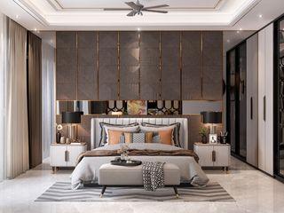 HC Designs DormitoriosCamas y cabeceros Madera Gris