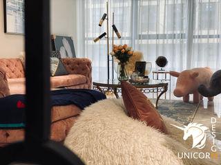 """""""微貴氣"""" 妃子的沙龍 Unicorn Design 客廳沙發與扶手椅"""