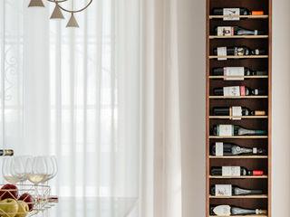 Casa FaLù manuarino architettura design comunicazione Cucina attrezzata Legno Bianco