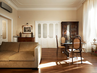 Atmosfere - Progettazione e ristrutturazione appartamento Roma zona Prati - 190 mq Gruppo Castaldi | Roma Soggiorno classico