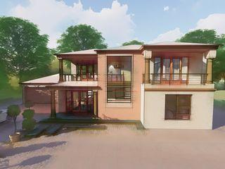 Lekgalong Modern Tuscan Design - Scotch Roof JL CREATIVES