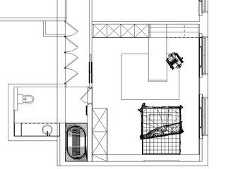 Desenho Branco Salle de bain moderne
