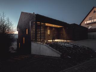 Haus am Hang Jan Rottler Fotografie Holzhaus