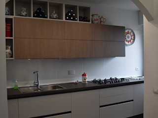 Appartamento Roma Largo Lenin zona Portuense Ma.Ni. Ristrutturazioni Cucina piccola