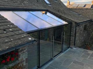 Wales Autumn 2020 Glass Structures Limited Оранжерея