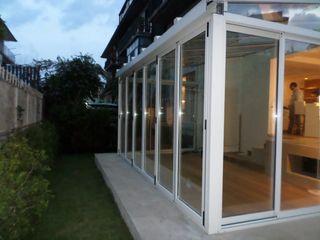 unica living design Konservatori Modern Aluminium/Seng White