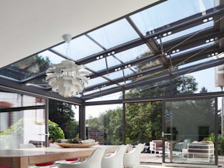 unica living design Atap landai Aluminium/Seng Grey