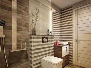 Monnaie Interiors Pvt Ltd Salle de bainBaignoires & douches Bois Effet bois