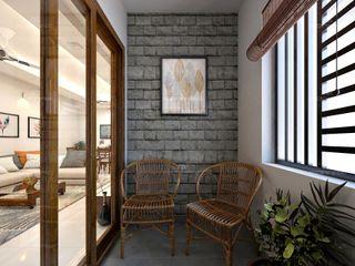 Monnaie Interiors Pvt Ltd Fenêtres & PortesPoignées de porte & accessoires Bois Effet bois