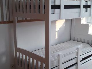 ADN Furniture Stanza dei bambiniLetti & Culle Bianco