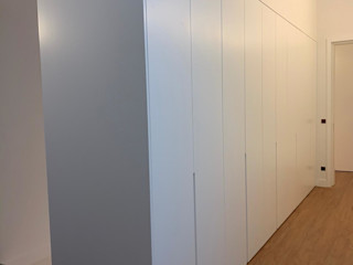 ADN Furniture Camera da lettoArmadi & Cassettiere Bianco