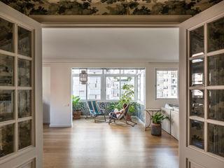 Home in Ciudad Universitaria tambori arquitectes Living room Blue