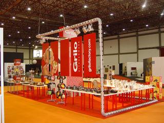 Stand para Exposição na Exponor Renato Fernandes - arquitetura Espaços comerciais industriais