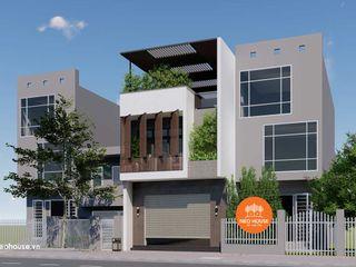 Thiết kế mẫu nhà phố hiện đại 3 tầng đẹp mặt tiền 6m NEOHouse