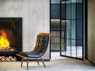 B&H Evi - Urla VERO CONCEPT MİMARLIK Modern Oturma Odası