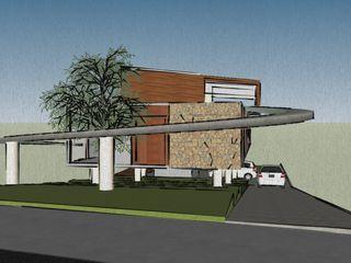 Studio Ideação Терасовий будинок Камінь
