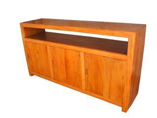 Racks para a sua Sala de Estar Barrocarte Sala de estarEstantes Madeira Efeito de madeira
