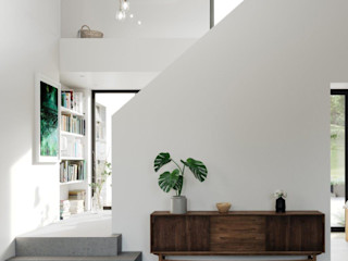 Marshall McCann Architects Tangga Beton White