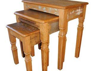 Mesas de Centro Rústicas para a sua Casa Barrocarte QuartoCriado-mudo Madeira Efeito de madeira