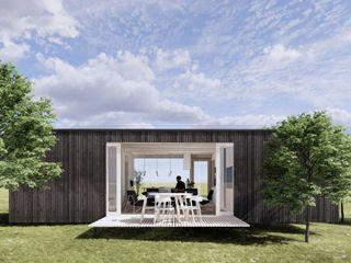 Eden B.V. Rumah kayu Kayu Wood effect
