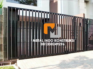 Metal Indo Konstruksi Detached home Aluminium/Zinc Black