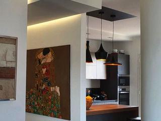 MEF Architect 置入式廚房 陶器 Wood effect