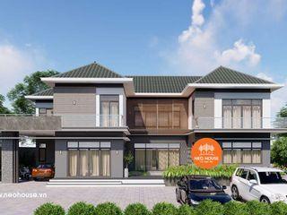 Mẫu nhà biệt thự 2 tầng mái thái hiện đại đẹp 23x10m tại Đồng Nai NEOHouse