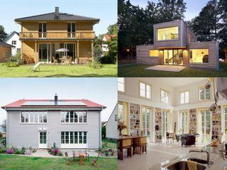 Müllers Büro Single family home Wood White