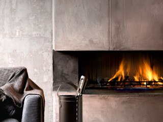 Limac Design Living roomFireplaces & accessories Leather