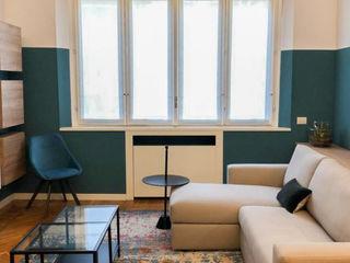 viemme61 غرفة المعيشةأريكة ومقاعد إسترخاء Green