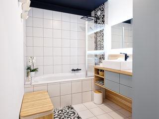 Rénovation d'un appartement avec vue à Lyon 6 Tiffany FAYOLLE Salle de bain scandinave